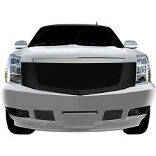 FITS CADILLAC ESCALADE 07-13 ABS BLACK FINISH MESH STYLE FULL REPLACEMENT GRILLE