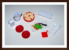 Food & Dishes - Kitchen  Accessories -  Mattel - For Barbie & Ken Doll -  Lot 85