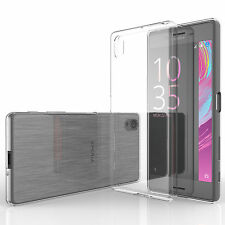 Yousave Accessories Slim Clear Silicone Gel Case Cover Sony Xperia X Performance