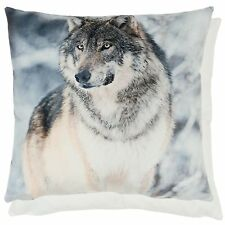 Clayre Eef Pillow Cover Cushion Wolf Lanodhaus Nostalgia Shabby 45x45cm