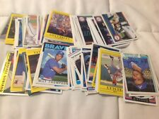 100 different Atlanta Braves cards 1980's-today Ankiel to Soriano NM to Mint