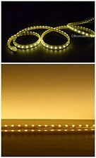 1200 LEDs Strip Rope Light 65 Feet Warm White Dimmable Flexible Flat Waterproof