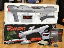 Boxed Nintendo Scope 6 Super Nintendo SNES NES - Complete - Free World Shipping!