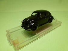 VITESSE VW VOLKSWAGEN KAFER OVAL - BLACK 1:43 - EXCELLENT ON STAND