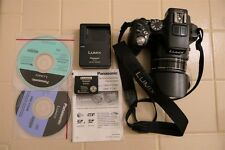 Panasonic LUMIX DMC-FZ200 12.1MP Digital Camera - plus extras.
