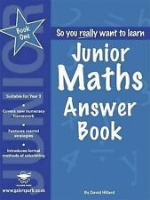 Junior Maths: Book 1: Answers by David Hilliard | pdf by email
