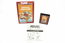 Real Sports Soccer for the Atari 2600 / 5200 / 7800, UK PAL, 1983