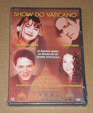 SHOW DO VATICANO (BRYAN ADAMS, CHARLOTTE CHURCH) - DVD SIGILLATO (SEALED)