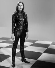 The Avengers Emma Peel Diana Rigg Check 10x8 Photo