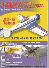 MRA N°784 PLAN : PIPER CUB J3 / AT-6 TEXAN / DIMORPHODON / SKYRAY DE SCORPIO