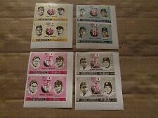 1972 American and Japanese Hall's Of Fame Stamps with Ted Williams RARE