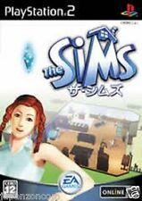 Used PS2 The Sims Bustin' Out SONY PLAYSTATION 2 JAPAN IMPORT