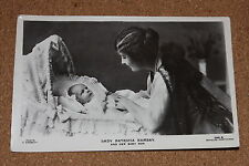 Vintage Postcard: Portait of Lady Patricia Ramsay and her Son, Beagle