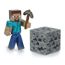 NEW Minecraft Overworld Steve Series 1 Action Figure