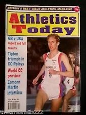 ATHLETICS TODAY - EAMONN MARTIN INTERVIEW - MARCH 19 1992