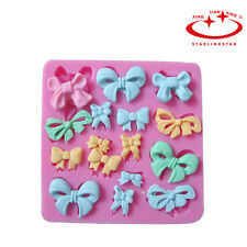3D Bowknot Silicone Fondant Cake Molds Decorating Decorating Mould Baking Tools