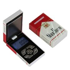 Pocket Electronic Digital Jewelry Scale Cigarette Case Shape Weighing 0.01-200g