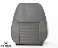 2000 Ford Mustang GT -Driver Side LEAN BACK Perforated Leather Seat Cover Gray