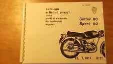 Ducati Sport 80 Catalogo Ricambi 00600 [3-21-5