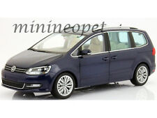 MINICHAMPS 110-051000 2010 VW VOLKSWAGEN SHARAN VAN 1/18 DIECAST MODEL CAR BLUE