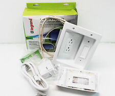 NEW Legrand In-Wall Power Kit for Flat-Panel TVs HT2202-WH-V1