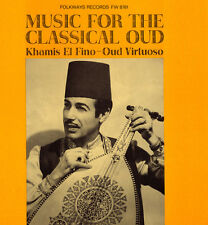 Music For The Classical Oud - Khamis El Fino Ali (2009, CD NEUF)