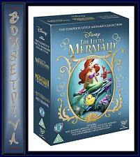 THE LITTLE MERMAID COLLECTION - 3 MOVIE COLLECTION *BRAND NEW DVD BOXSET*