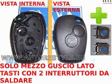 2 switch + Guscio cover chiave solo tasti DACIA DUSTER LOGAN SANDERO LODGY ...
