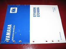 Yamaha EF1600A_EF2400A Generators Factory Service Manual_OEM_ca 1996