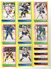 (12) 13/14 O-PEE-CHEE HOCKEY STICKER INSERT CARD LOT-OVECHKIN!!!