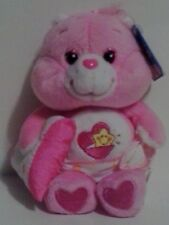 "2003 7"" BABY HUGS CARE BEAR CARLTON PLAY ALONG 20th ANNIVERSARY NWT MINT"