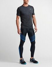 Men's Nike Power Speed Running Tights Black Size Medium 717750 018 $150