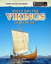 What Did the Vikings Do for Me? (Heinemann Infosearch)-ExLibrary