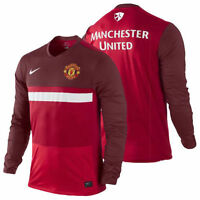 Authentic Nike Manchester United Training Top Men's, Size: XXL, Long Sleeve