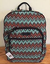 NWT VERA BRADLEY Sierra STREAM Campus Backpack Book bag $109