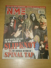 NME 2000 SEP 16 SLIPKNOT VS SPINAL TAP MADONNA BJORK