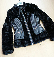 PINKO MINK LEATHER JACKET IT42