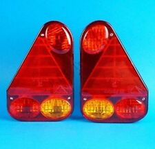 FREE P&P* 2 x Aspock Earpoint 3 Rear Trailer Lamp Lights - Ifor Williams