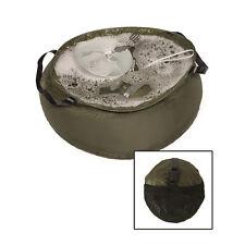 RIP-STOP pieghevole militare dell'esercito PIC-NIC Lavaggio Lavare I Piatti Campeggio Bacino Ciotola 10L