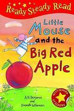 NEW  - LITTLE MOUSE and the BIG RED APPLE ( READY STEADY READ Hardback )