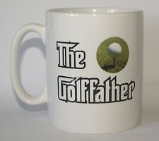 THE GOLFFATHER Golf Fan/Golfer Funny Novelty Printed Mug - Ideal Gift/Present