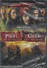 Dvd Walt Disney **PIRATI DEI CARAIBI ♦ AI CONFINI DEL MONDO** Johnny Deep 2007