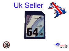64GB Memory Card for Canon EOS 650D 6D 700D 70D C100 DSLR Camera SDXC CLASS 10