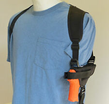 "Shoulder Holster for Springfield XDs 3.3"" 9mm or 45 with Underbarrel Laser"