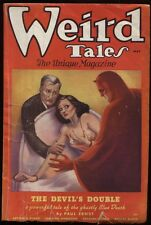 Weird Tales. 1936 May. Doctor Satan cover and story.