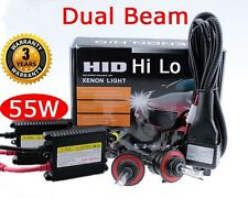Slim 55W H13 9008 Xenon HID Hi Lo Dual Conversion Kit HeadLight 3000K Yellow