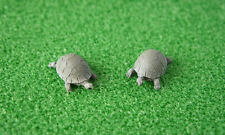 FAIRY GARDEN ANIMALS - TORTOISES - SET OF TWO - NEW