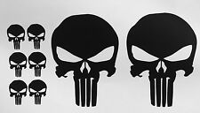 8X PUNISHER AMERICAN FLAG SNIPER SKULL DIE CUT VINYL DECAL STICKER JDM USA DEATH