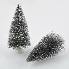 Hot 1 X 10cm Christmas Pine Tree Festival Party Ornaments Home Office Xmas Decor