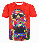 Women's Men's Fashion Rapper Guru biggie smalls 3D Print Casual T-Shirt  SW10